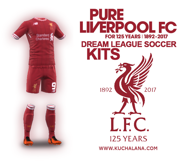 Liverpool Kits 2017/18 - Dream League Soccer 2017