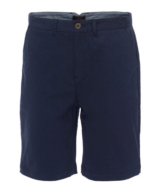 Blue Indigo Stretchy Shorts from J.A.C.H.S Co.