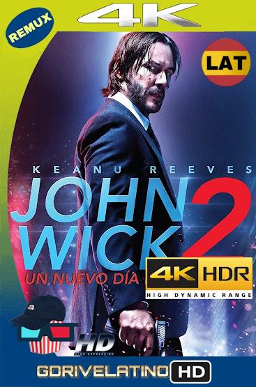 John Wick 2 (2017) BDRemux 4K HDR Latino-Ingles MKV