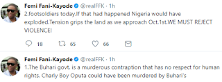 FFK reacts to attack on Charly Boy at Wuse Market