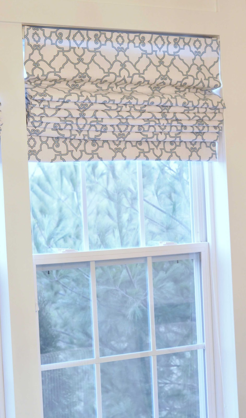 House Of Chic And Penoche Roman Shades From Big Blinds