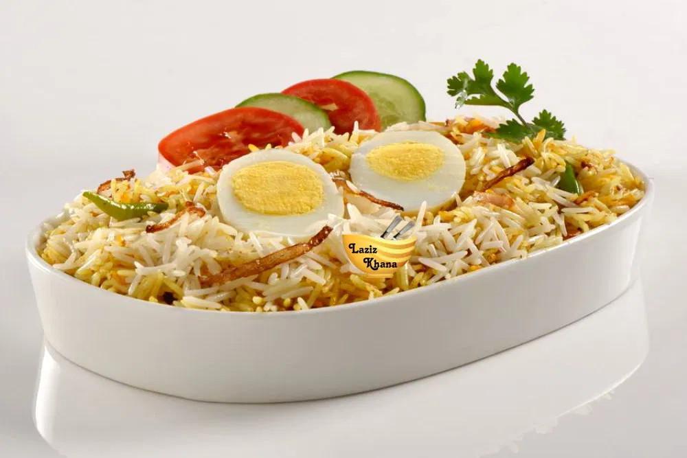 Recipe of Egg Biryani in Hindi