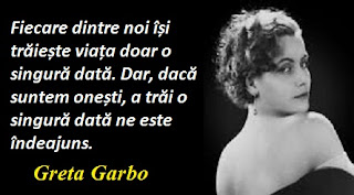 Maxima zilei: 18 septembrie -  Greta Garbo