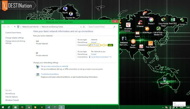 cara membuat hotspot di laptop windows 7 ke hp