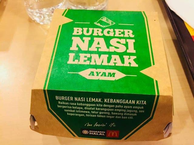 Burger Nasi Lemak sedap ke tidak?