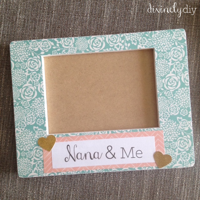 Divinely Diy Diy Mothers Day Frames For Nana Grandma