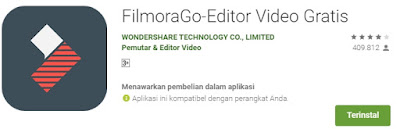 Aplikasi edit video hp android terbaik