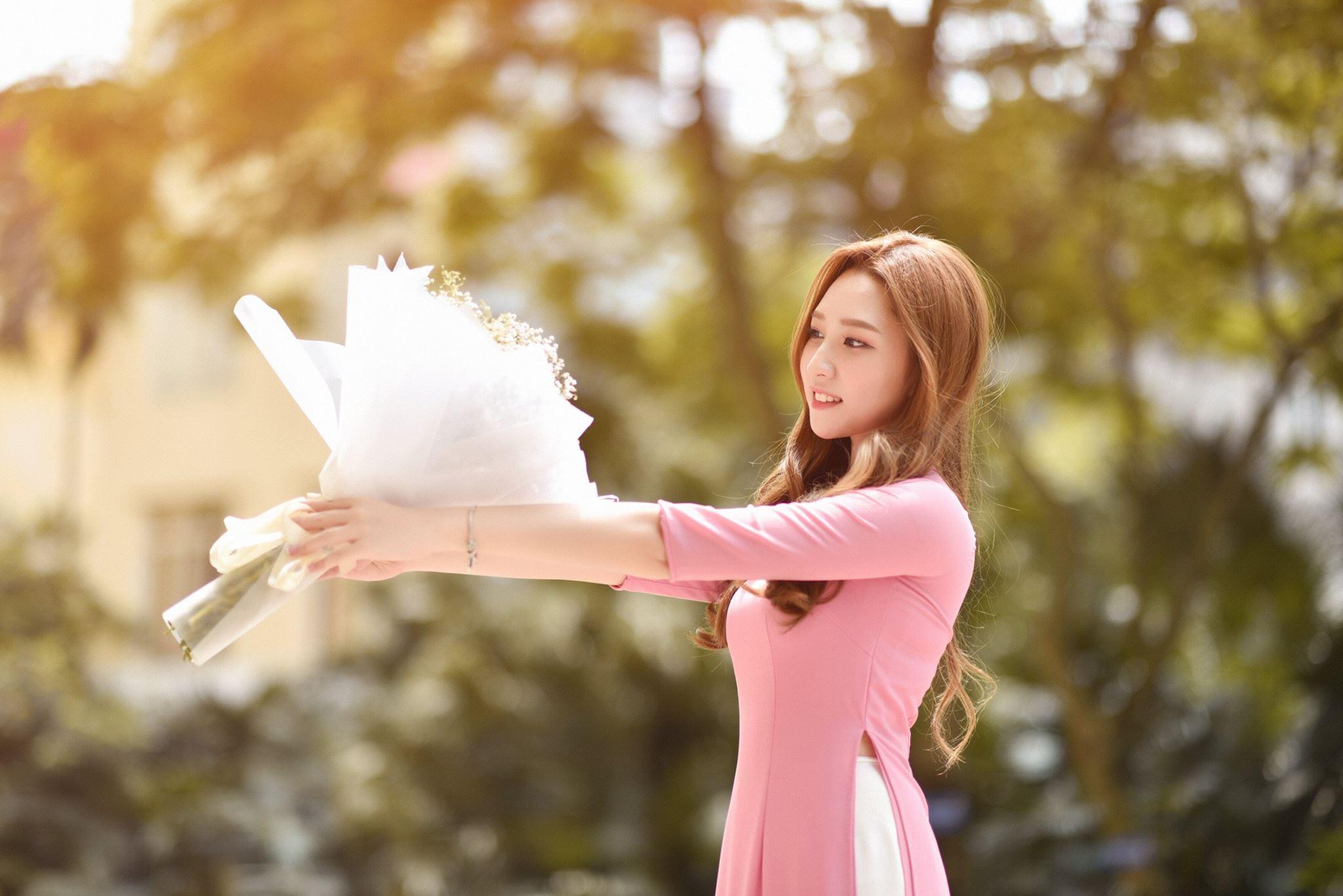 Hot girl Cù Phương Linh sở hữu ngoại hình xinh như mỹ nhân Hàn - 1