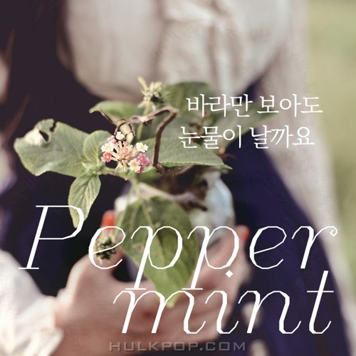 Peppermint – 바라만 보아도 눈물이 날까요 – Single