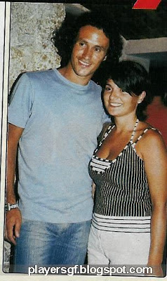Ricardo Carvalho and his girlfriend