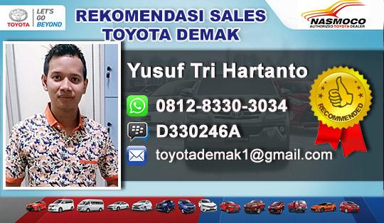 Rekomendasi Sales Toyota Demak