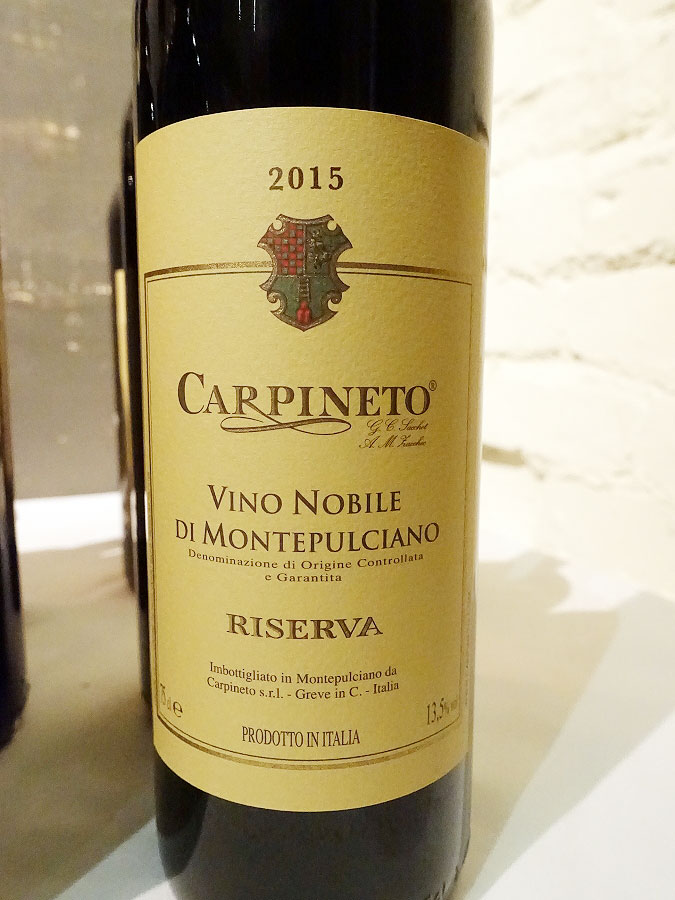 Carpineto Vino Nobile di Montepulciano Riserva 2015 (91 pts)