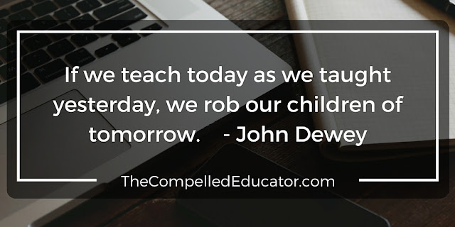 The Compelled Educator: 12 Quotes: Technology in the Classroom