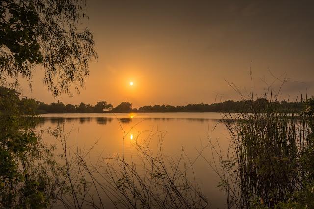 Sunset, Smith Oaks Sanctuary