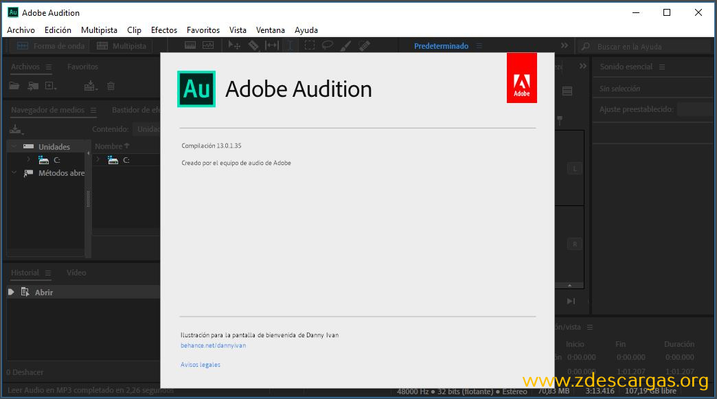 Adobe Audition CC 2020 Full Español