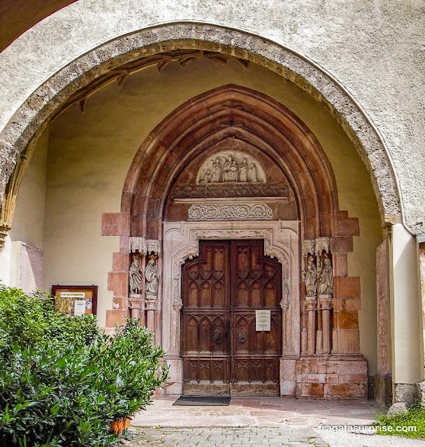 Igreja da Abadia de Nonnberg, Salzburgo