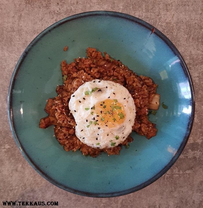 Pik Nik Menu Kimchi Pork Bulgogi Fried Rice