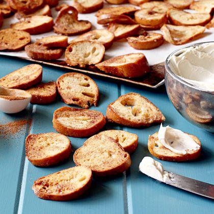 Cinnamon Sugar Bagel Chips