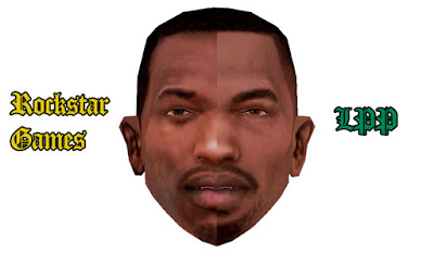 gta sa san mod lpp retexture cj hairstyle new look