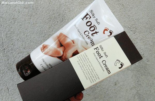 Silky Soft Foot Cream