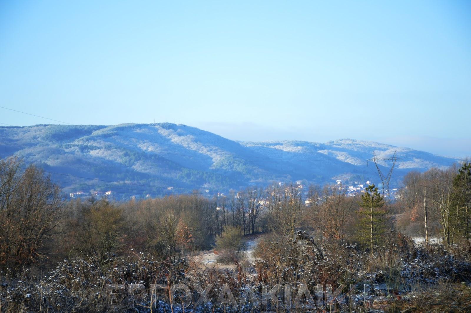 Το κρύο θα είναι το κύριο χαρακτηριστικό του καιρού της εβδομάδας στην Χαλκιδική
