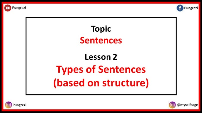 2. Types of Sentences (based on structure)