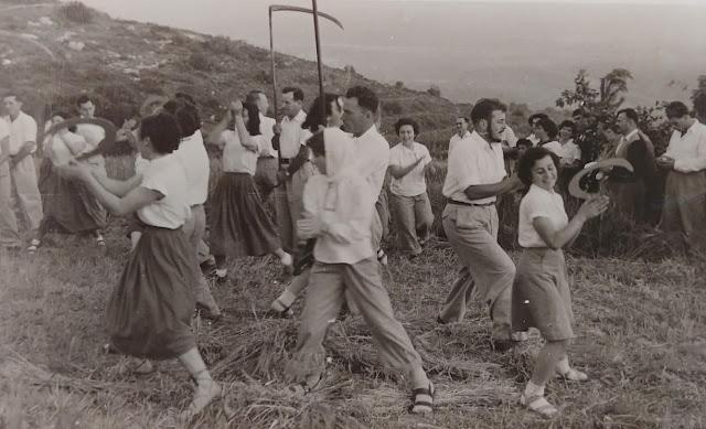 שבועות, קיבוץ, גליל מערבי, חניתה, עומר, שנות החמישים