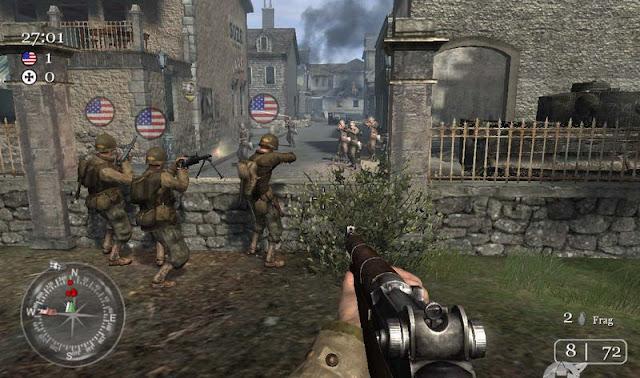 تحميل  لعبة Call Of Duty 1 بحجم [ 1GB ] كاملة الان بالتورنت