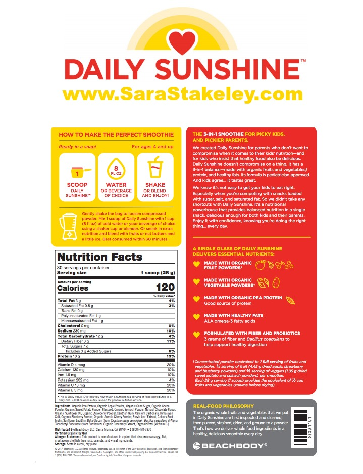 sara stakeley: do you love smoothies?? daily sunshine is here!!