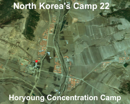 North Korea's Camp 22, Horyoung Concentration Camp, Kwalliso number 22, Camp 22 of North Korea