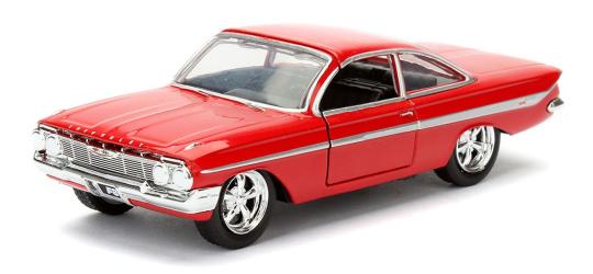 coleccion rapido y furioso, coleccion rapido y furioso jada tyos, coleccion rapido y furioso 1/32, Dom's Chevy Impala
