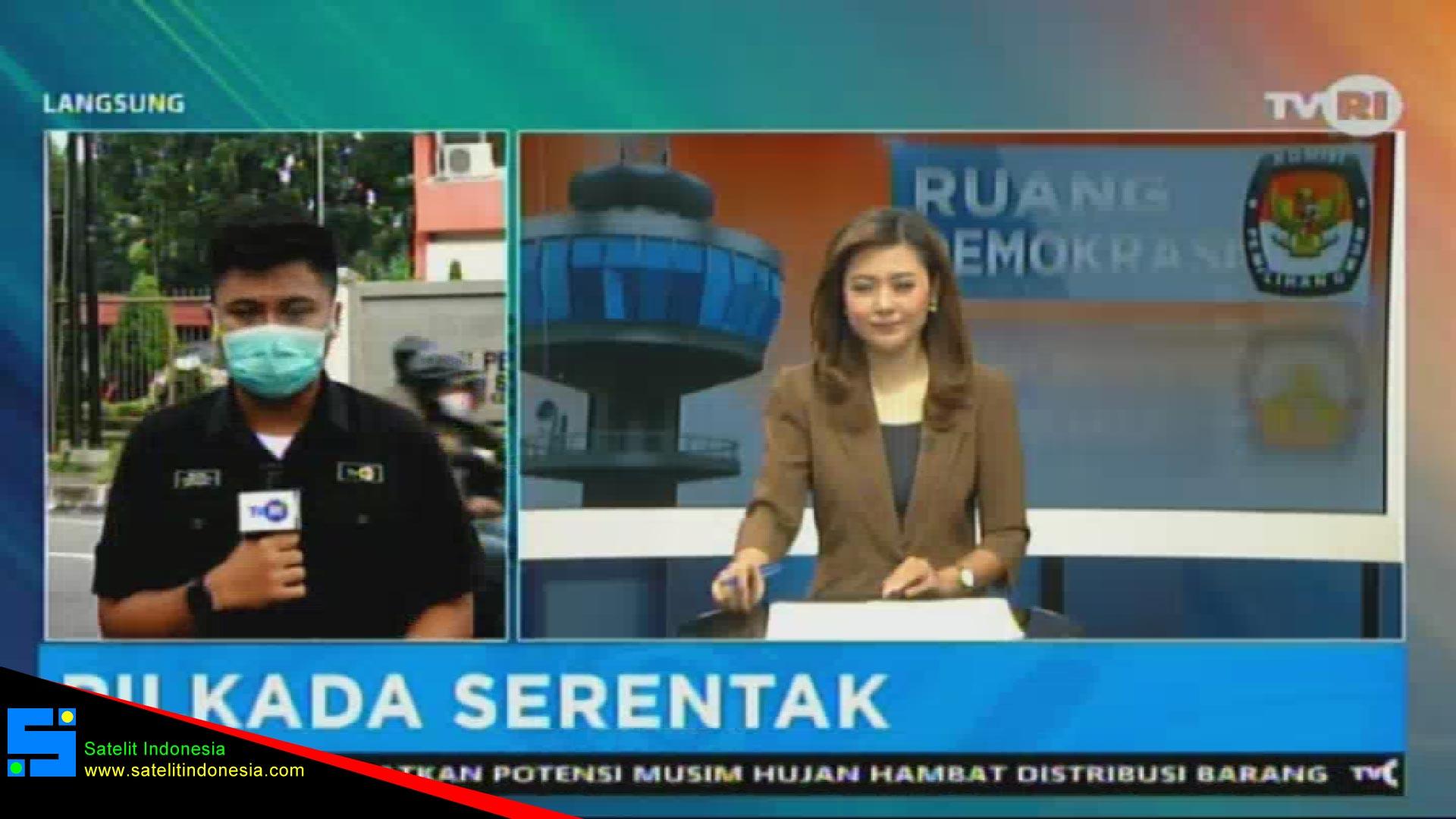 Frekuensi siaran TVRI Jatim di satelit Telkom 4 Terbaru