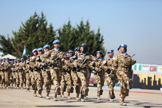 1.158 Kontingen Garuda UNIFIL Terima Penghargaan UN Medal PBB