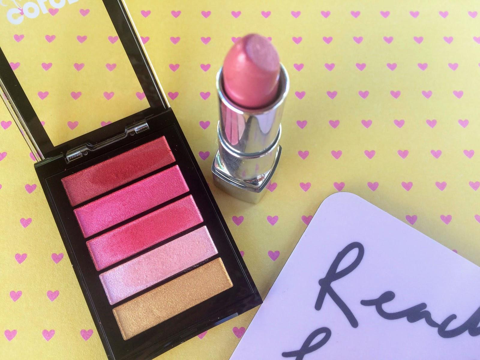 Revlon Lip Powder, Rimmel lipstick