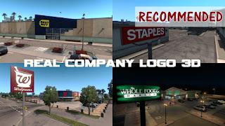 ats real company logo 3d v1.5