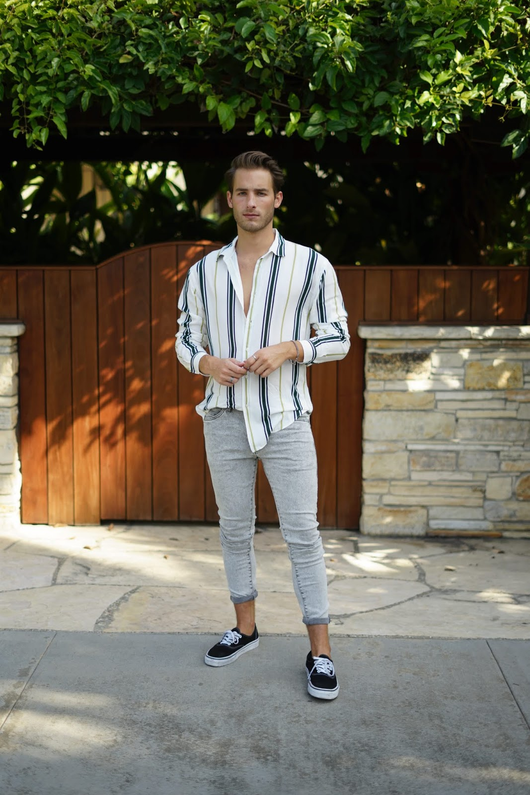 stripe shirts for men