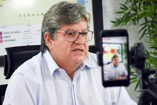 João Azevedo confirma previsão de vacina para 21 de janeiro na Paraíba