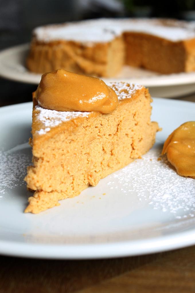 cheesecake souffle dulce de leche