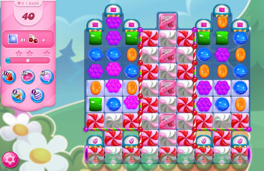 Candy Crush Saga level 8429