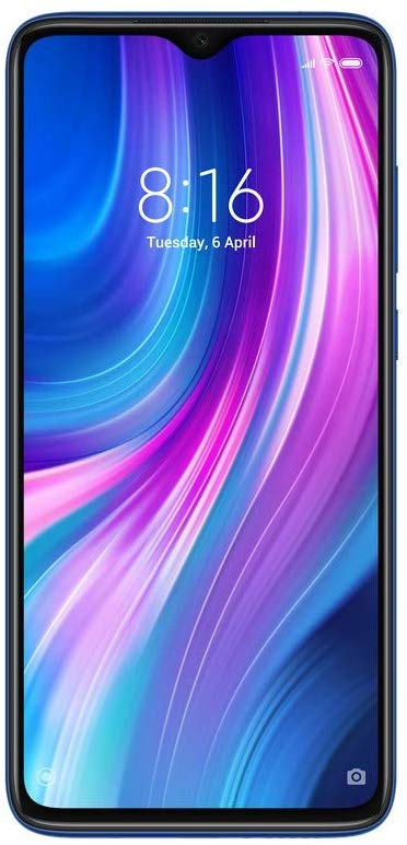 Redmi Note 8 Pro (Electric Blue, 6GB RAM, 128GB Storage)