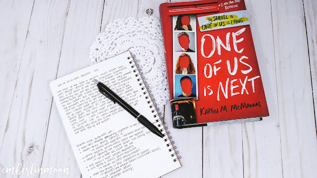 Book Talk: One of Us Is Next by Karen M. McManus