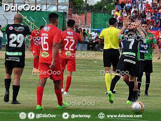 Oriente Petrolero gana a Guabirá en Montero 1-2 - DaleOoo