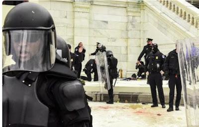 U.S. Capitol police officer injured in defense of Capitol dies