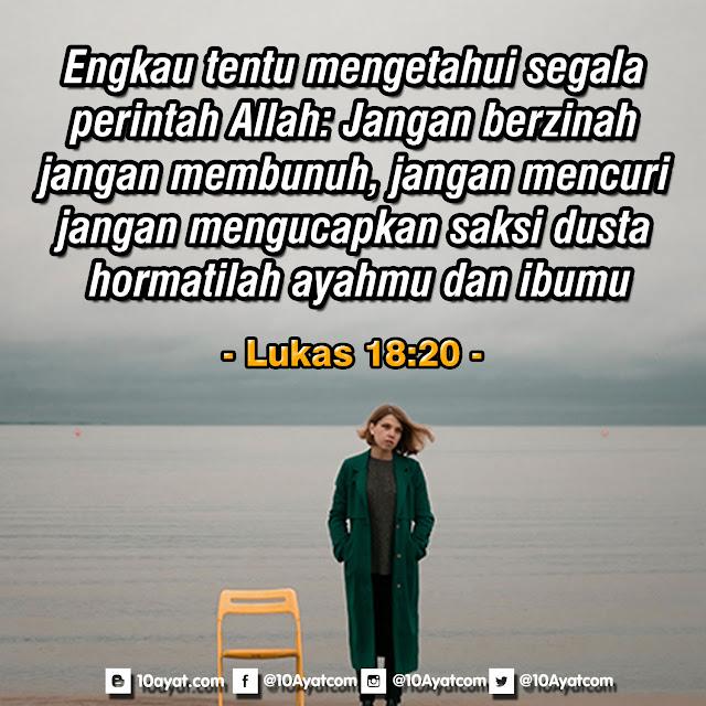 Lukas 18:20