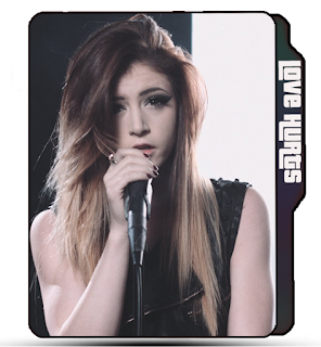 Against the current Wallpaper icons, Music Band, Crissy Constanza, brunette girl folder icon, ATC band, Singer.