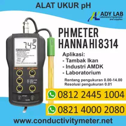 pH Meter, Harga pH Meter Merk Hanna,