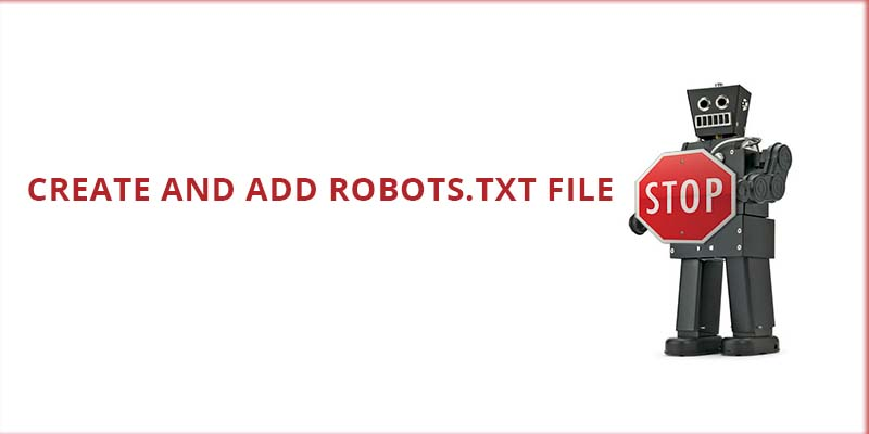 Adding robots.txt file to site directory