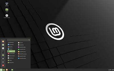 Screenshot Tampilan Linux Mint Terbaru
