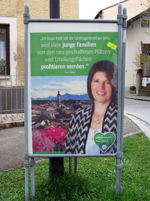 Claudia Haider zur Landesgartenschau Traunstein