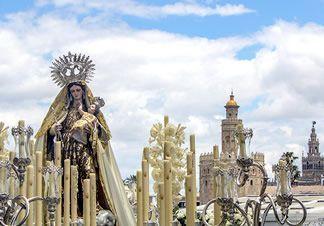 Horarios e Itinerarios de todas las Salidas Procesionales de la Virgen del Carmen en Sevilla